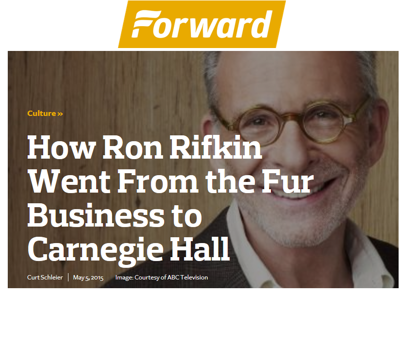 RON RIFKIN-FORWARD