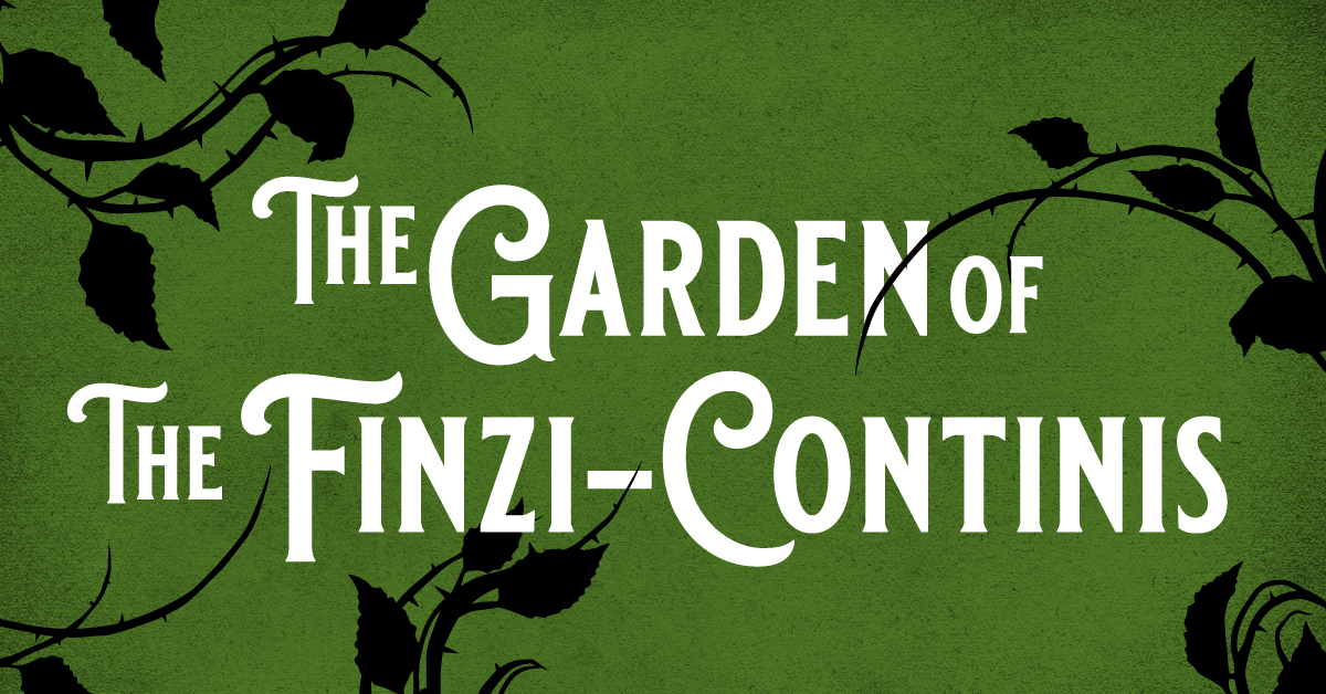 New York City Opera and National Yiddish Theatre Folksbiene present The Garden of The Finzi-Continis
